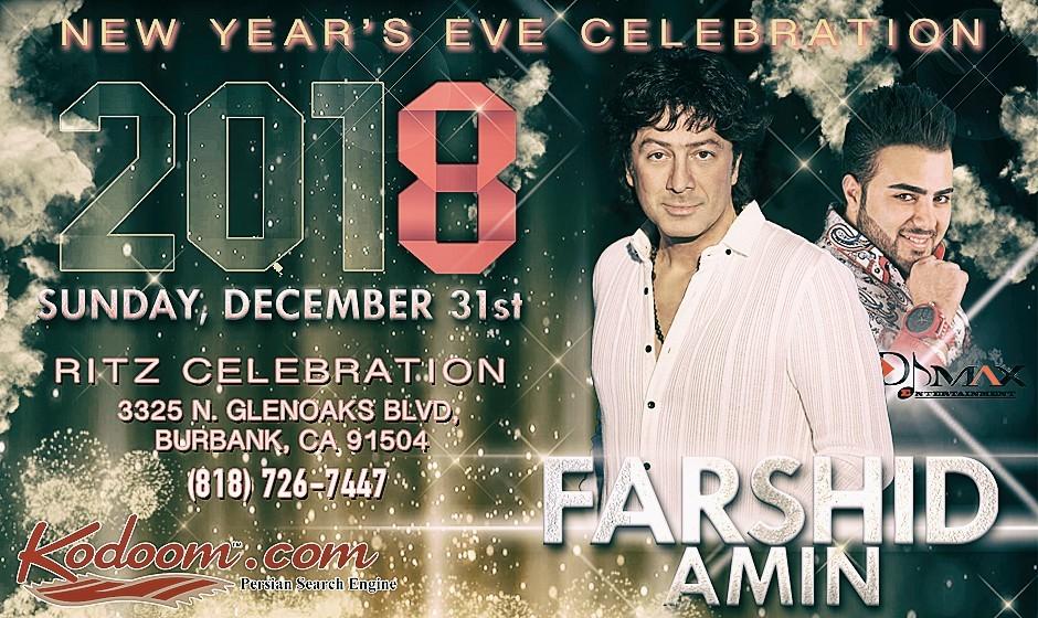 Farshid Amin at New Year's Eve Celebration