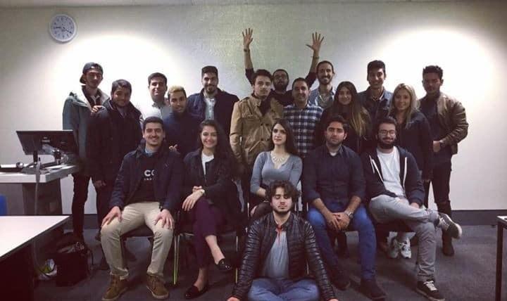پارتی ایرانیان دانشگاه کینگستون
