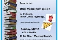سخنرانی دکتر فردیس در باره فشارهای روحی دانشجویان