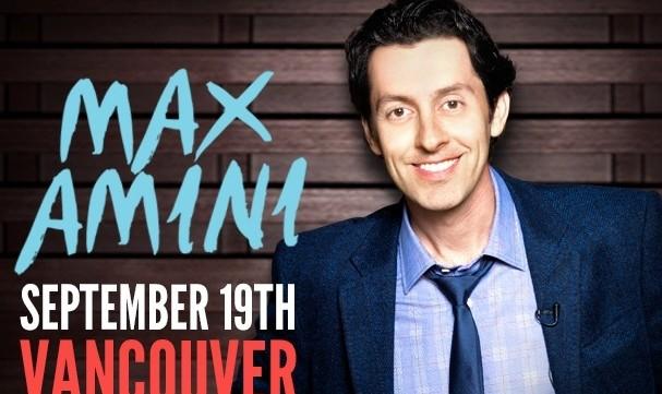 کمدی مکس امینی در ونکوور