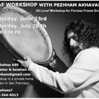 Daf Workshop with Pezhham Akhavass