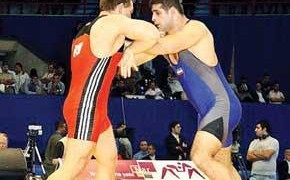 Iran vs. USA Freestyle Wrestling Match in 2014 FILA World Cup