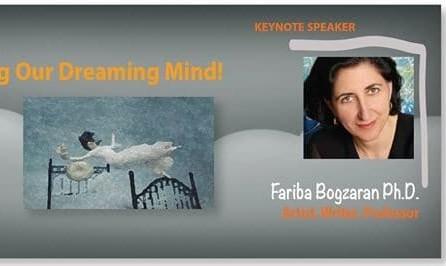 سخنرانی دکتر فریبا بگذران، متخصص علم رویا در جلسه شبکه خانمهای ایرانی آمریکایی