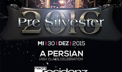 Persian Pre Silvester Party: ENERGY PARTY