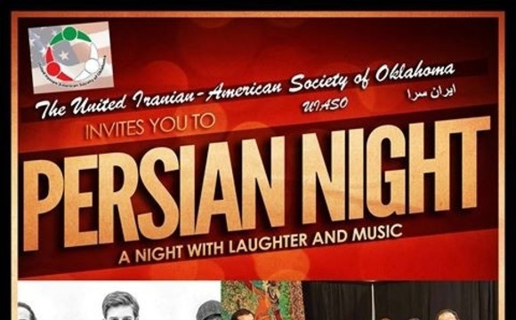 کمدی کیوان، همراه موسیقی ایرانی در اکلاهوما