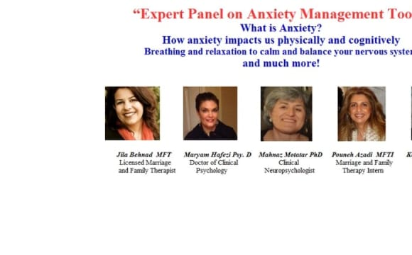 Expert Panel on Anxiety Management Tools