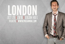 Max Amini Live in London