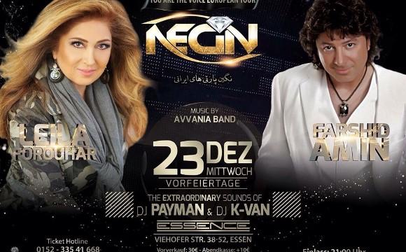 Leila Forouhar and Farshid Amin Christmas Concert
