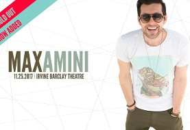Max Amini Live in Irvine
