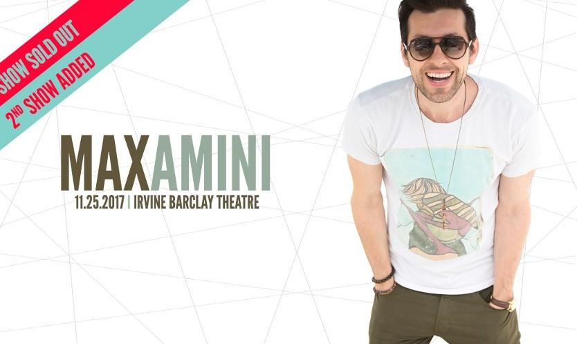 نمایش کمدی زنده مکس امینی در شهر ایروین
