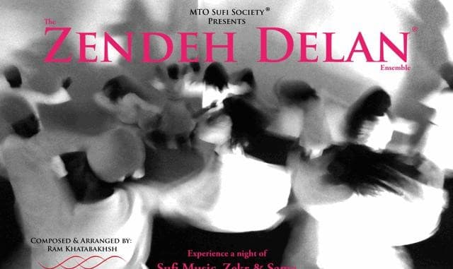 Zendeh Delan®: Night of Sufi Music, Zekr and Sama