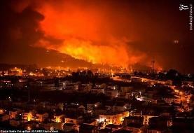 هم زمان با کالیفرنیا، آتش سوزیهای گسترده جنگلی در پرتغال و اسپانیا: ۳۶ کشته و ده ها زخمی
