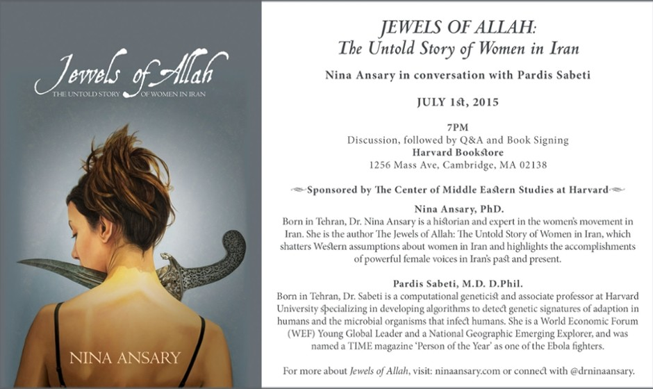 Nina Ansary discusses Jewels of Allah: The Untold Story of Women in Iran
