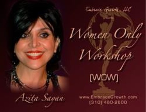 WOW Women Only Workshop By Dr Azita Sayan - Sydney