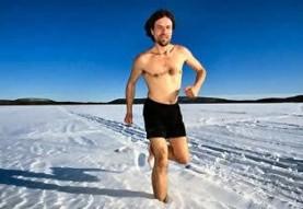 راز معجزه ویم هاف (شنا و راهپیمایی برهنه در یخ): تومو