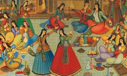 Persian Gathering, Music, and Dance