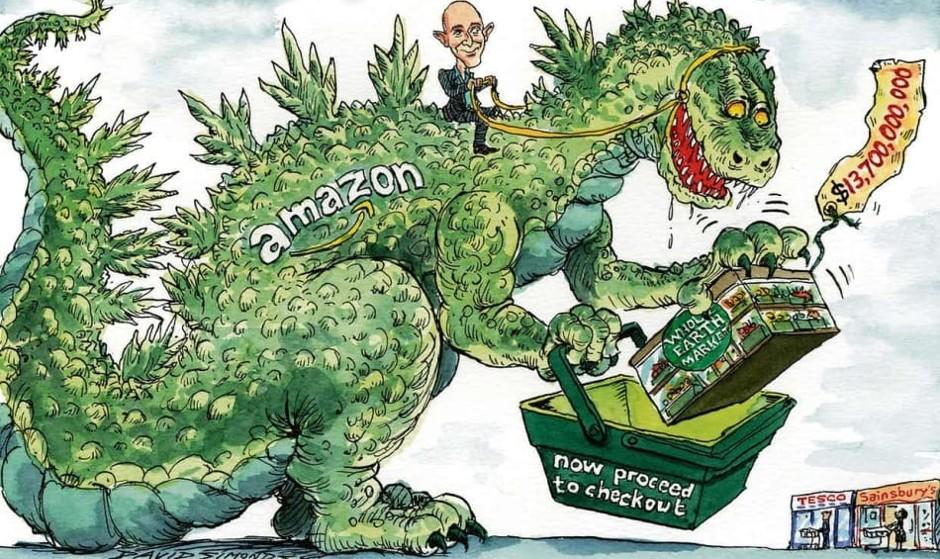 شرکت آمازون به دنیای فروش غذا هم وارد شد: خرید ۱۳.۷ میلیارد دلاری آمازون دنیای غذای آنلاین را متحول میکند؟
