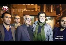 ویدئوهای حواشی مراسم ترحیم حبیب: از اشکهای پسرش تا حضور برخی از هنرمندان و کنسرت خیابانی اعتراضی مردم