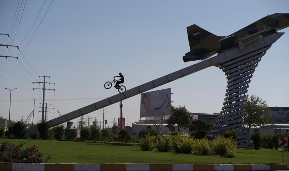 نمایش فیلم در باره دوچرخه کوهی حرفهای در ایران