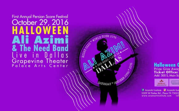 Ali Azimi and The Need Concert: Ezzat Ziad! With DJ Nima Halloween Custome After Party