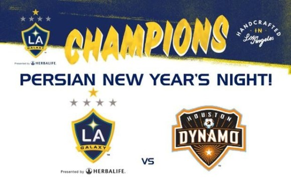 LA Galaxy Persian New Year's Night