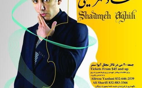 Shadmehr Aghili Concert