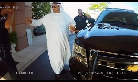 ویدئو کتک خوردن میلیونر اماراتی از پلیس اهایو آمریکا