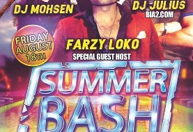 Seattle Summer Bash (۱۸+) feat. DJ Mohsen, DJ Julius, & Farzy Loko