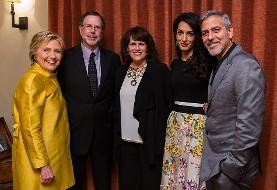 تغییر موضع جرج کلونی درباره کلینتون: او مناسب کاخ سفید نبود