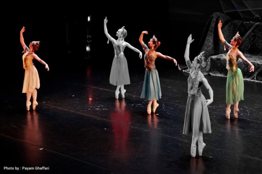 Iranian Dance with National Kyrgyzstan Ballet - Tirgan 2015