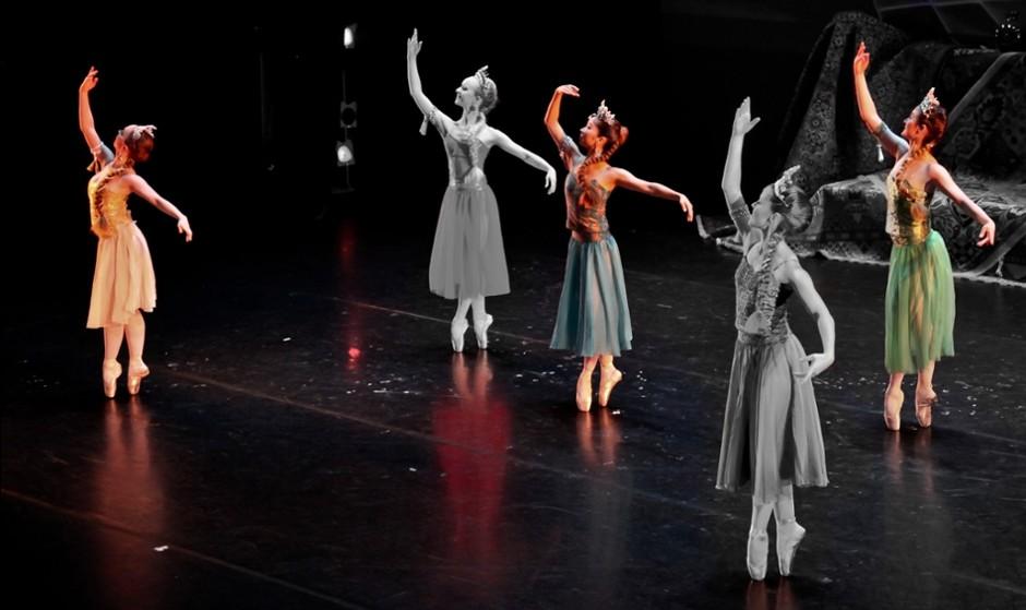 رقص ایرانی همراه با باله ملی قرقیزستان