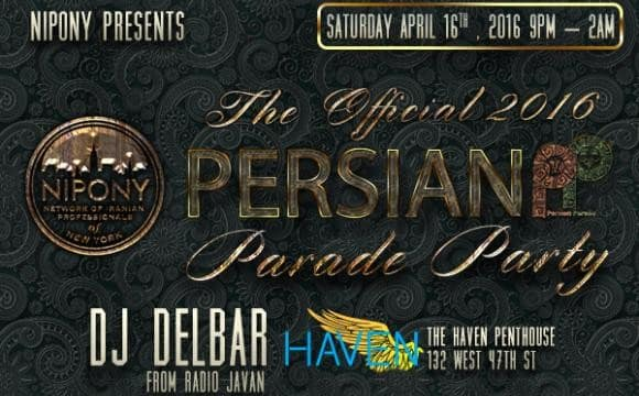 Pre-Persian Parade Celebration by NIPONY featuring DJ Delbar