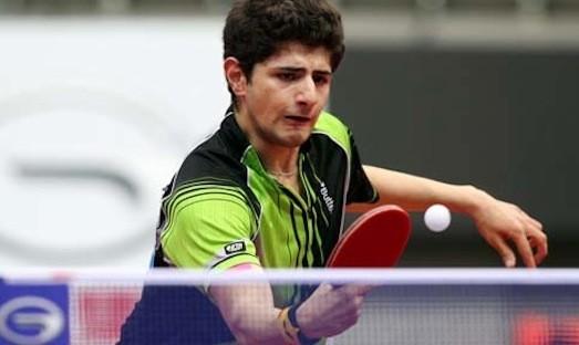 نیما عالمیان به جمع ۴۸ بازیکن برتر رقابت های تور جهانی تنیس روی میز صعود کرد