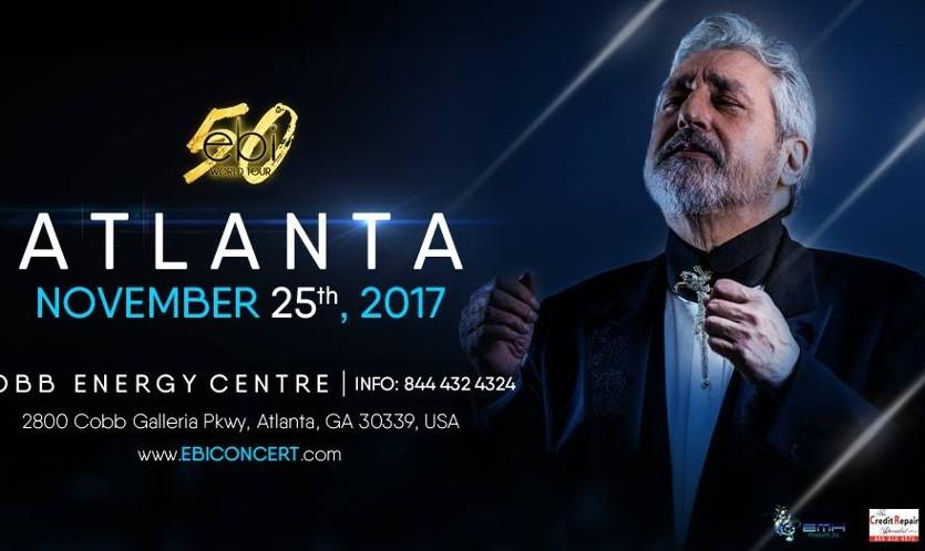 Ebi Concert in Atlanta