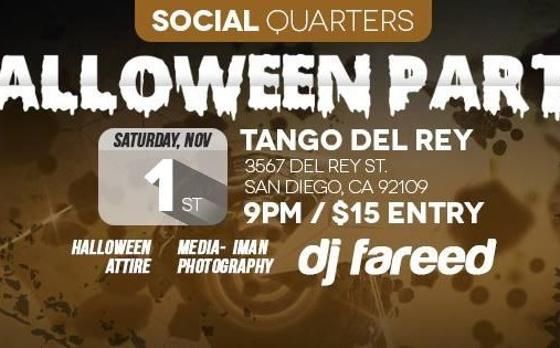 Social Quarters Halloween Party!!!