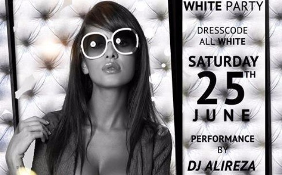 VIP White Party with DJ Alireza and DJ Nima