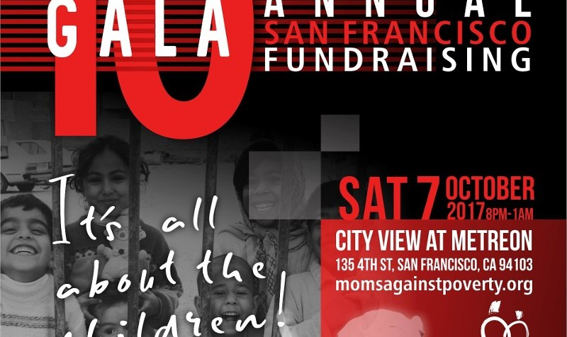 Moms Against Poverty 10th Annual Fundraising Gala