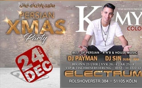 KamyR in Xmas Persian Party in Cologne