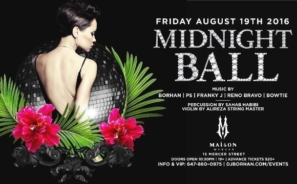 Midnight Ball: Maison Club with DJ Borhan