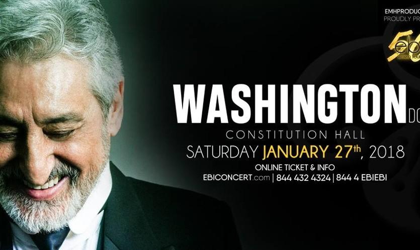 "Ebi, Live in Washington D.C., ""50"" World Tour"