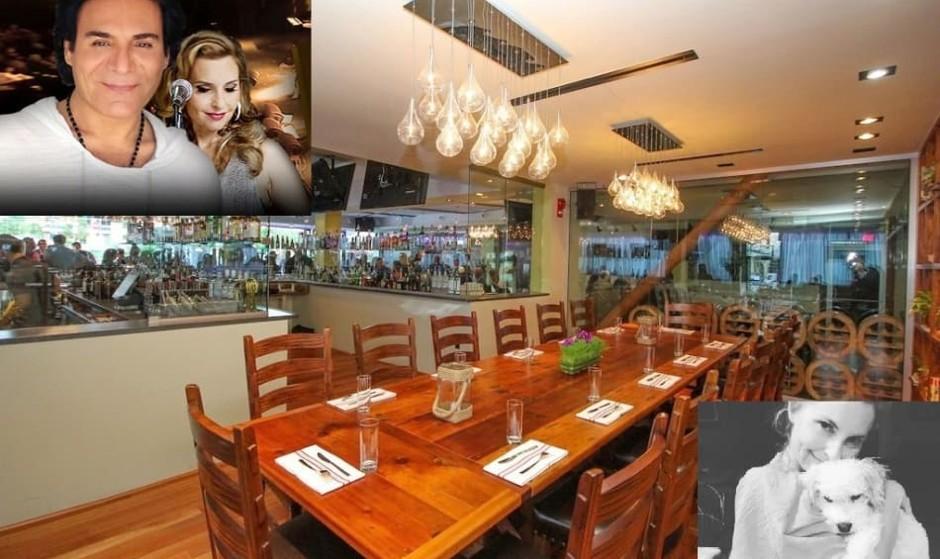 میهمانی خیریه خودمانی با اندی و شینی در رستوران زیبای واشنگتن