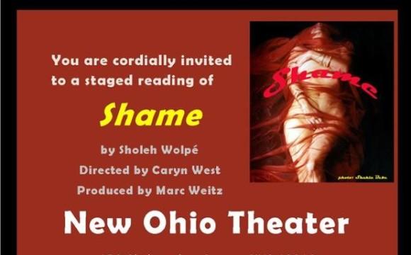 شرم  نمایشنامه از شعله ولپی در نیویورک