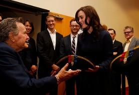 هشتمین زن هم تجربه آزارجنسی از سوی جرج بوش پدر را فاش کرد (تصویر)
