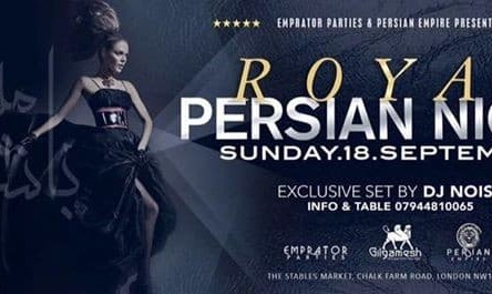 Royal Persian Night At Gilgamesh London
