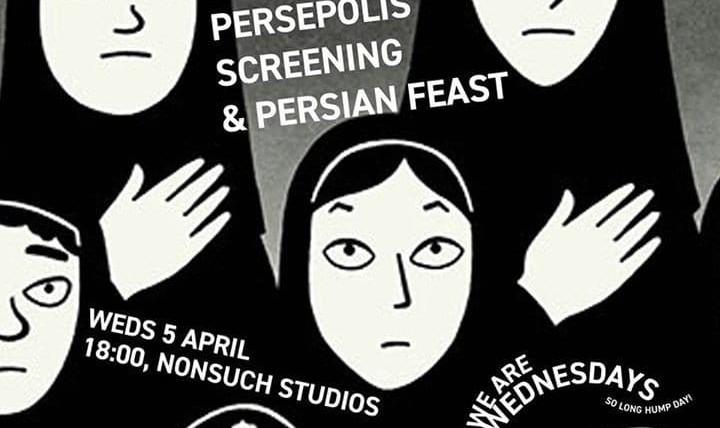 Proper Persian: Iranian Film & Food night