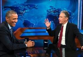 جان استوارت درباره ایران به اوباما: دیپلماسی آمریکا هم چیز جدید و جالبیست!