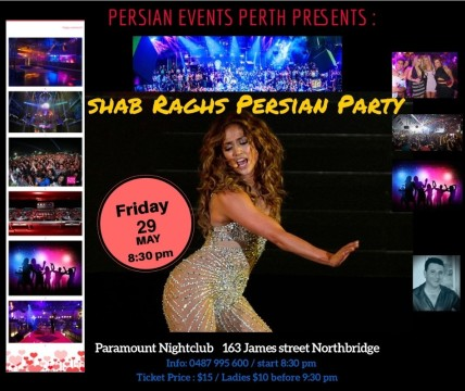 Shab Raghs Party Perth