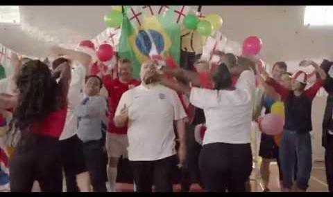 Iranian-born Omid Djalili makes British World cup fan anthem