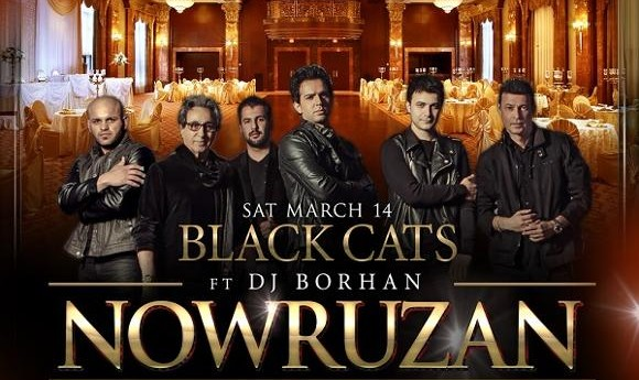 Nowruzan with Black Cats and DJ Borhan