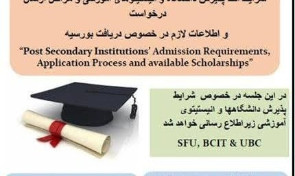 University Admission Requirements and Institute Training Seminar